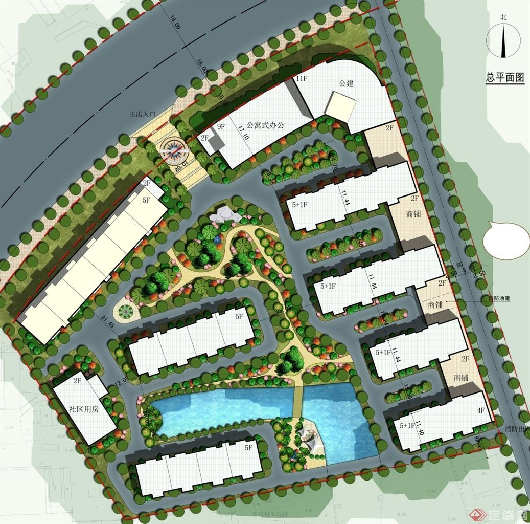 zwc小区建筑规划设计