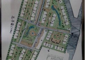 学生作业—城市高新园区组团规划方案