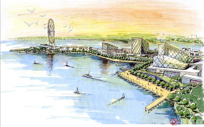 葫芦岛北港概念规划城市设计方案文本[原创]