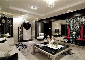 邱德光室内装饰作品集欣赏(含住宅、公馆、会所、酒店)