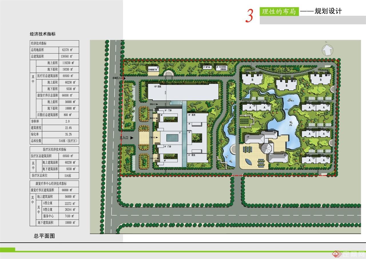 中部地区500床综合医院设计方案-主语工作室