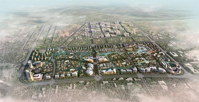 嘉兴南湖金融小镇概念规划设计方案文本[原创]