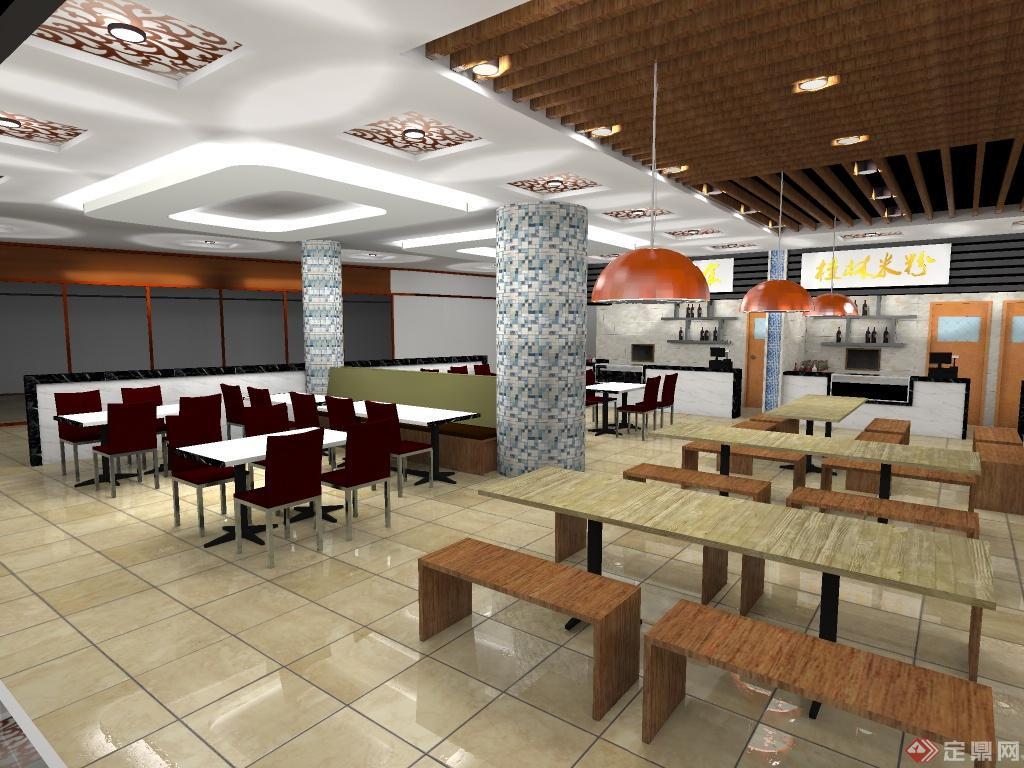 美食城室内装修设计