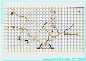 某个公园景观设计CAD施工图
