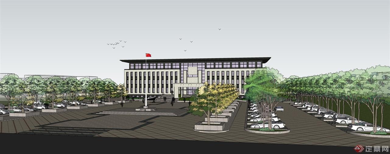 新古典风格行政办公楼
