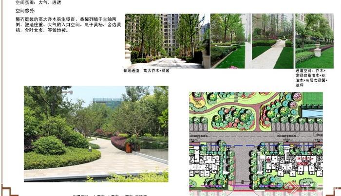 上海某高级住宅区建筑景观规划设计PPT文本