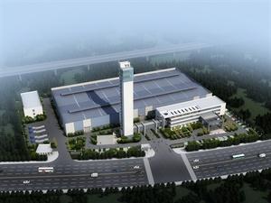 GA电梯厂区建筑设计及SU模型