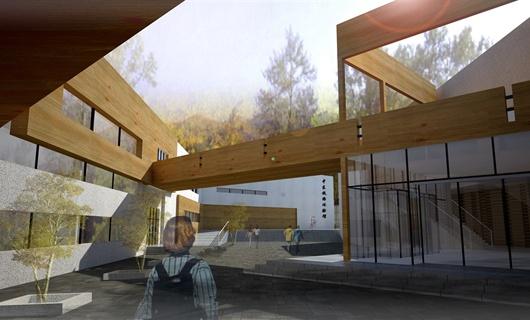 中東鐵路體驗館建筑設計