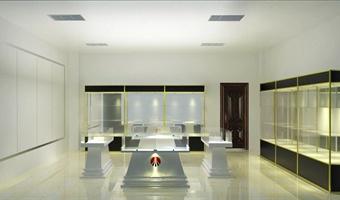 展厅室内设计效果图
