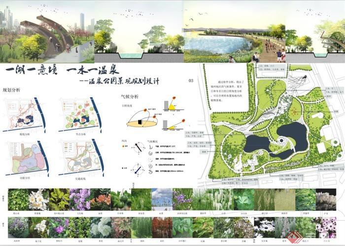 【景观设计】综合性公园的功能分区讲解