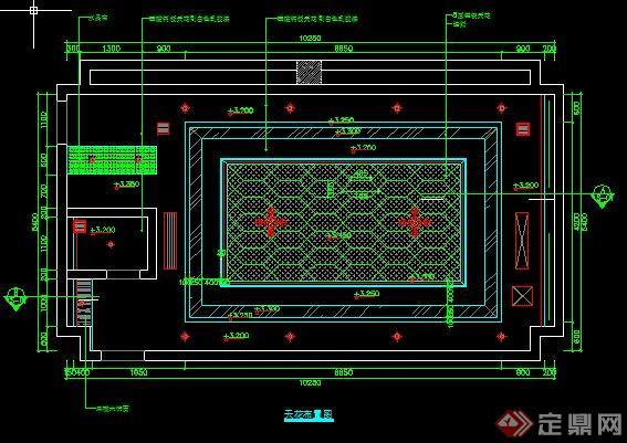 某现代KTV包房室内设计方案图(含效果图)(3)