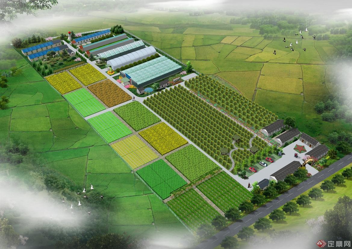 生态休闲农业园规划设计