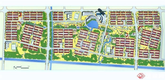 47款住宅小区绿化规划设计JPG方案图