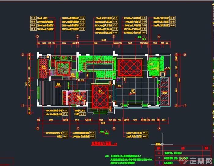 某中海别墅设计CAD施工图 JPG效果图 软装方案PPT