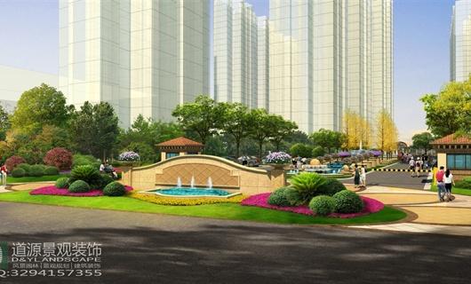 武汉居住区景观规划设计方案