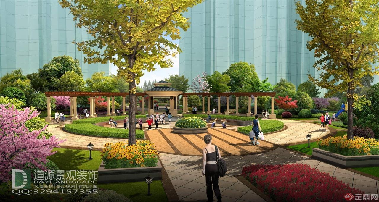 武汉居住区景观规划设计方案狭长形自建房屋设计图图片