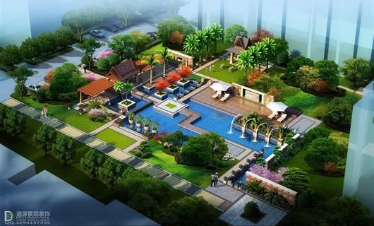 徐州厂区宿舍居住区景观设计