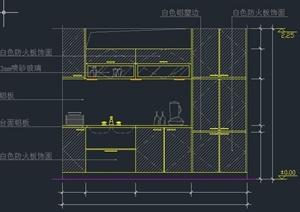 多个厨房设计CAD立面图