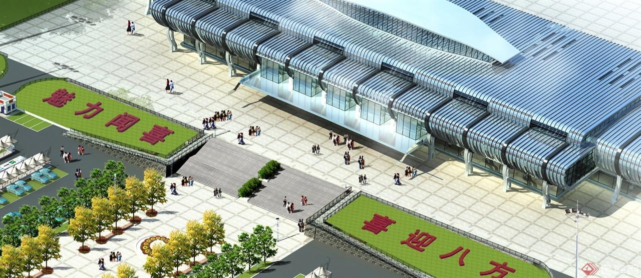 高铁站前广场的设计方案
