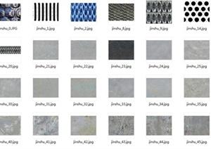 191张3DMAX金属贴图材料JPG图片