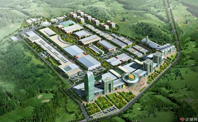 四川蓝雁集团食品工业园