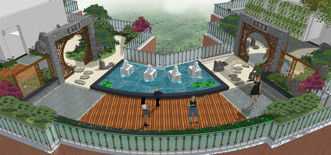 宜昌虹桥国际屋顶花园