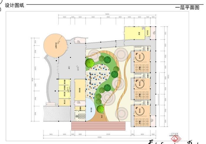 某社区幼儿园建筑设计方案(5)