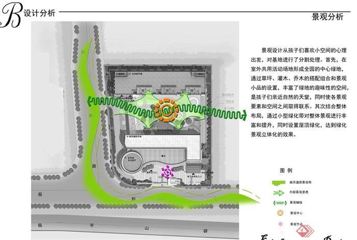 某社区幼儿园建筑设计方案(7)
