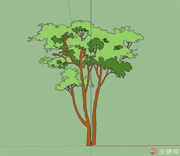 174棵花卉,乔木,灌木,地被植物设计su模型[原创]