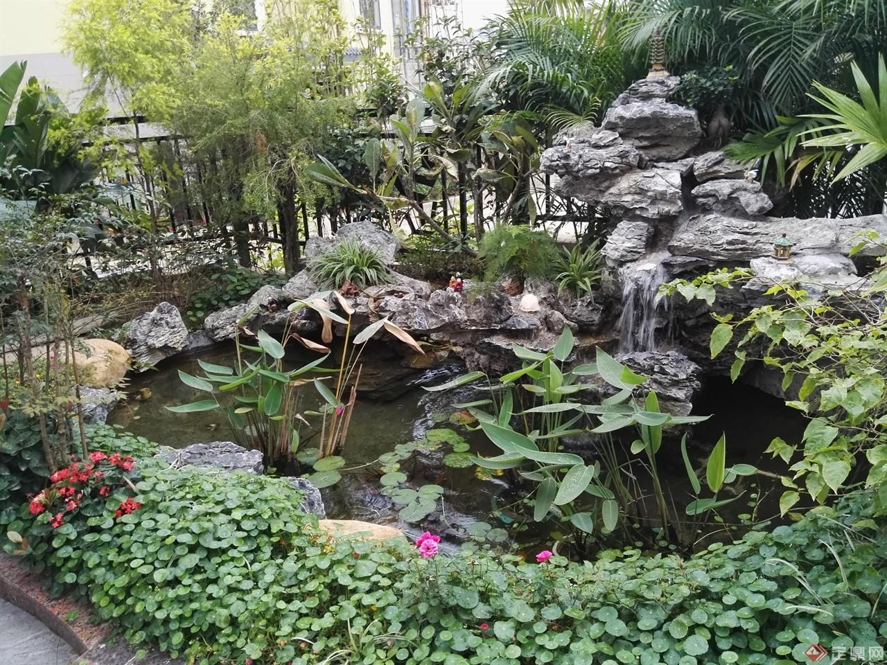 别墅花园实景案例-琴子私家花园设计