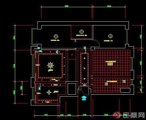 某二层复式住宅室内设计方案图