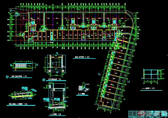 杭州某高層商住小區建筑設計施工圖(含效果圖)