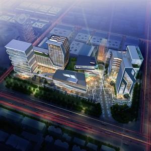 汽车城规划建筑设计