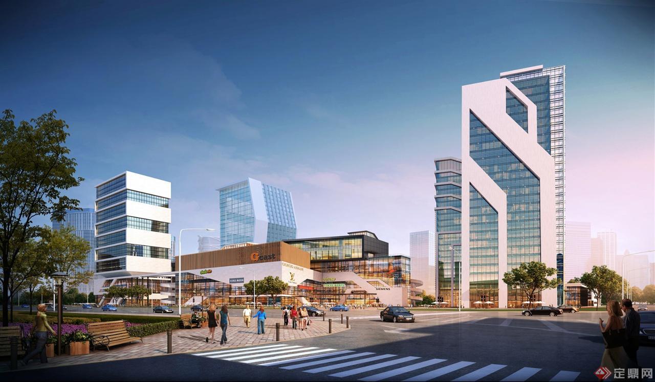 汽車城規劃建筑設計