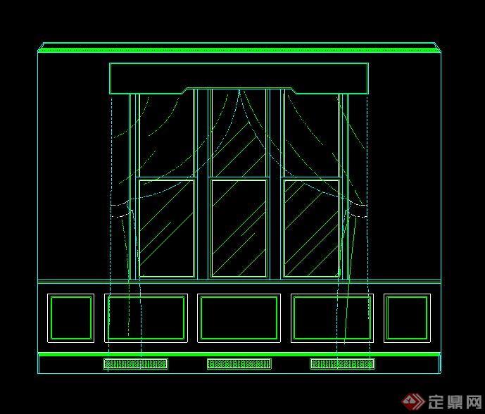 15道窗子v窗子CAD施工图或立面图cad2010编辑文字14图片