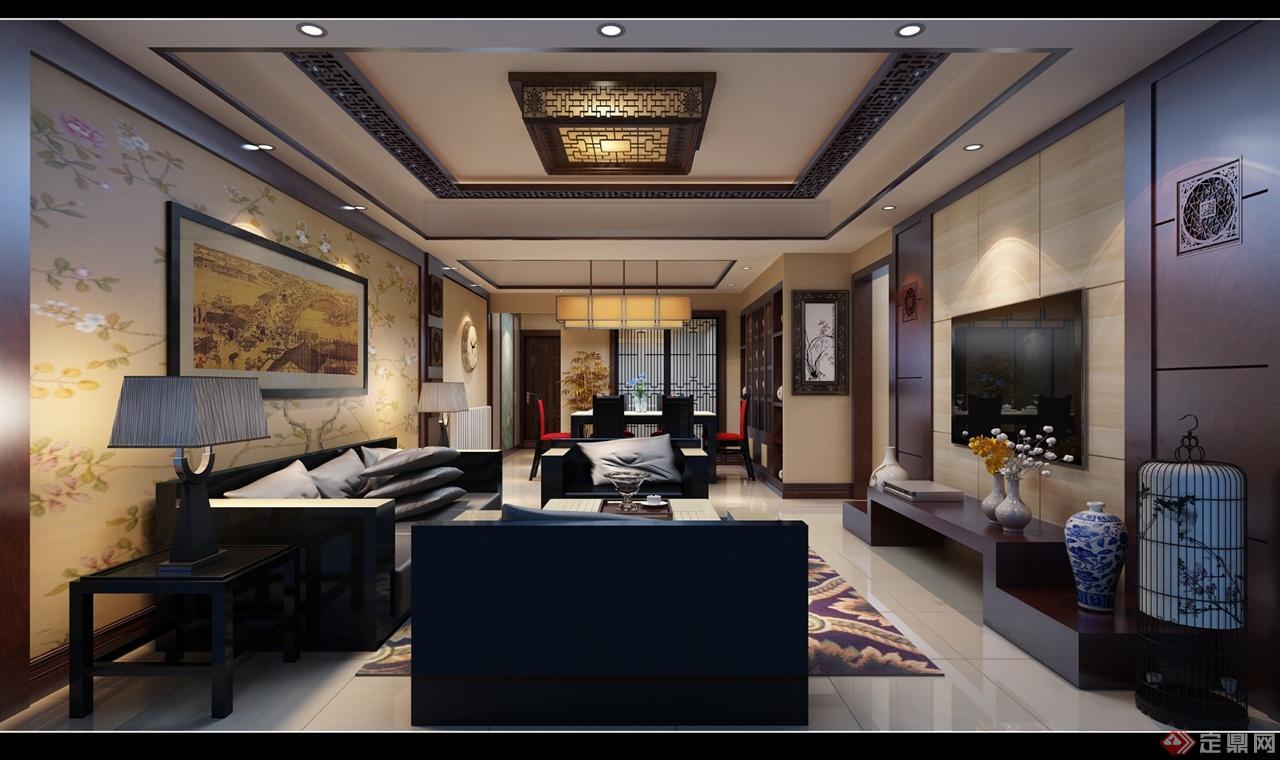 本案以新中式风格为主题。本案以雅为主案思路,以以人为本为线索,在整体空间装饰布局中彰显出主人的雅致生活格调及舒适的生活作息,软装与硬装中式题材的运用展现了本案的设计精髓与布局用心。新中式设计在原来传统中式的风格上添加了一些时尚的现代元素,是现代风格与中式风格的完美融合。设计不拘泥于传统的中式设计,力图以现代的简约舒适的手法凸显中式的文化气息,追求雅致中显尊贵,简约新颖却不失文化气息。