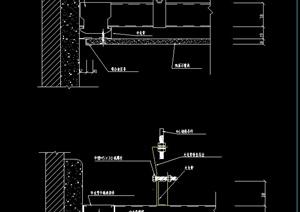 款建筑节点中式吊顶设计CAD施工图-DWG设计素材下载