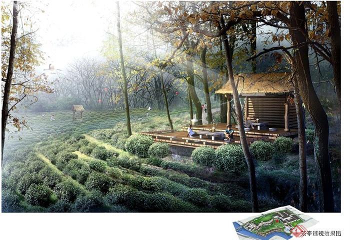 某旅游景区茶园景观规划设计jpg文本[原创]