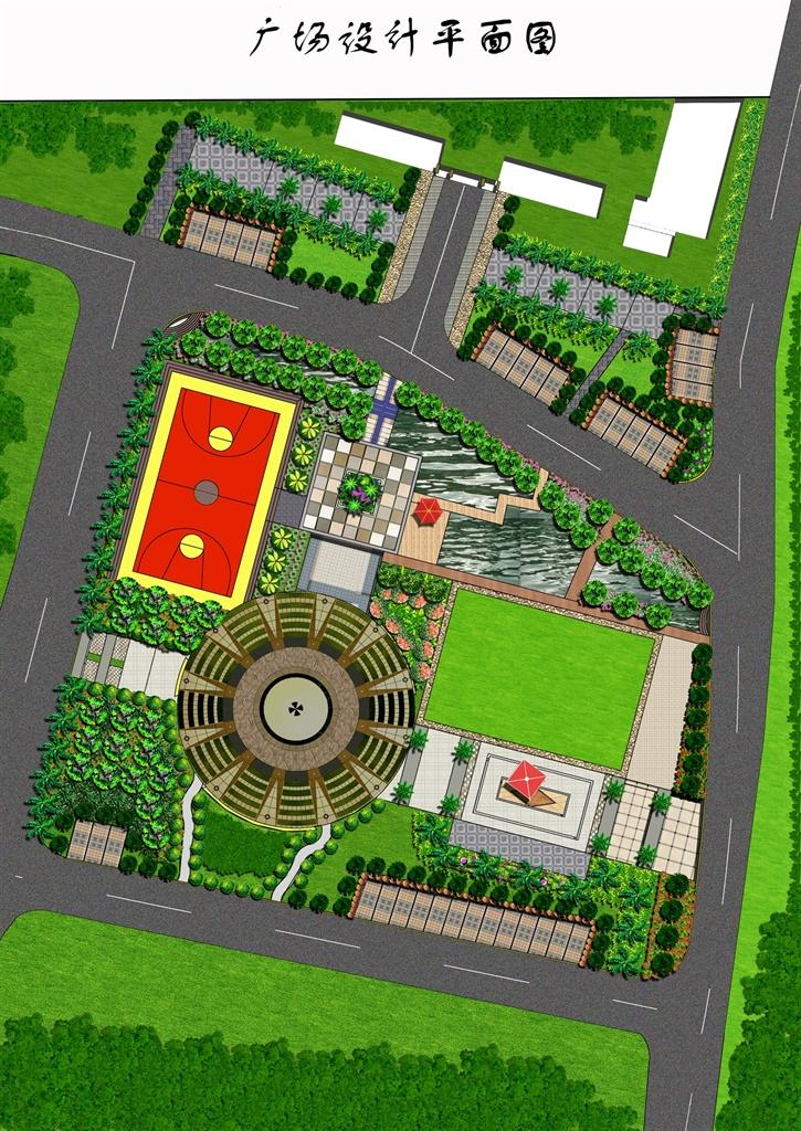 小休闲广场