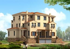 33桃别墅建筑设计方案图纸