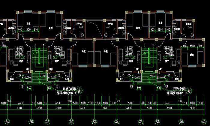 某大学学生公寓建筑设计全套施工图(图纸需用天正打开) 本工程总用地面积: 6353.01平,标准学生公寓建筑面积:3593.76平 建筑基底面积:598.96平; 结构形式:本工程为框架结构,建筑层数6层,室外地面至屋脊总高度为21.646m; 该工程建筑工程等级三级;结构安全等级二级;设计使用3类年限(五十年);建筑抗震设防类别为乙类.