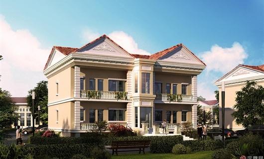 小别墅区建筑