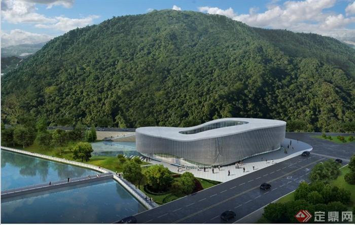 文化博物馆建筑概念设计PPT方案文本(含两个