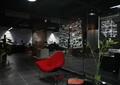 办公空间,办公区,设计中心,办公桌,形象墙