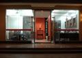 办公空间,门头,玻璃门,形象墙,接待桌