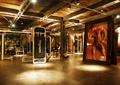 健身区,健身器材,装饰画