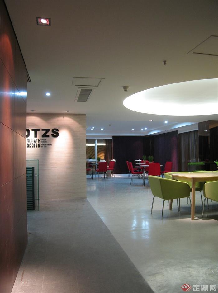 桌椅,办公空间,形象墙图片