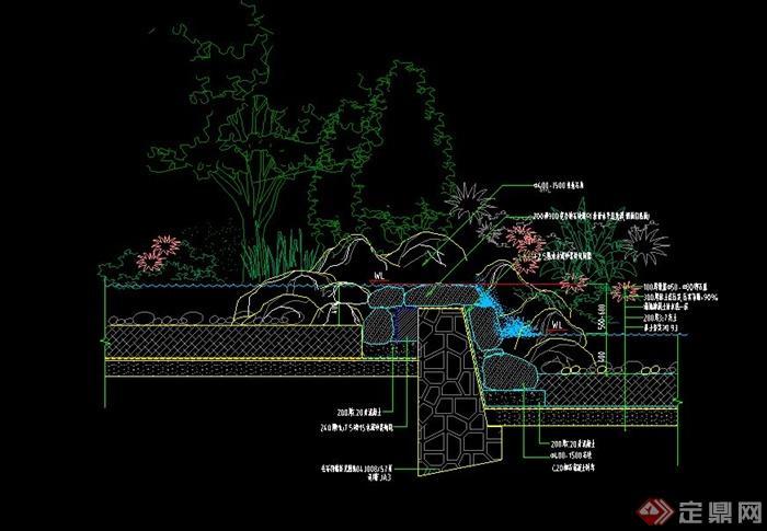 园林景观设计施工图图片展示_园林景观设计施工图相关图片下载