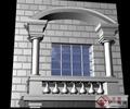 窗户,拱形窗户,窗套