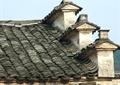 马头墙,屋面